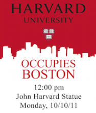 Harvard University Occupies Boston